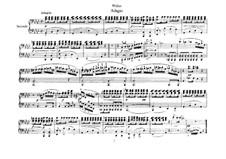 Six Pieces for Piano Four Hands, J.81-86 Op.10: peça No.5 by Carl Maria von Weber