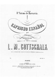 Capricho español: Capricho español by Louis Moreau Gottschalk