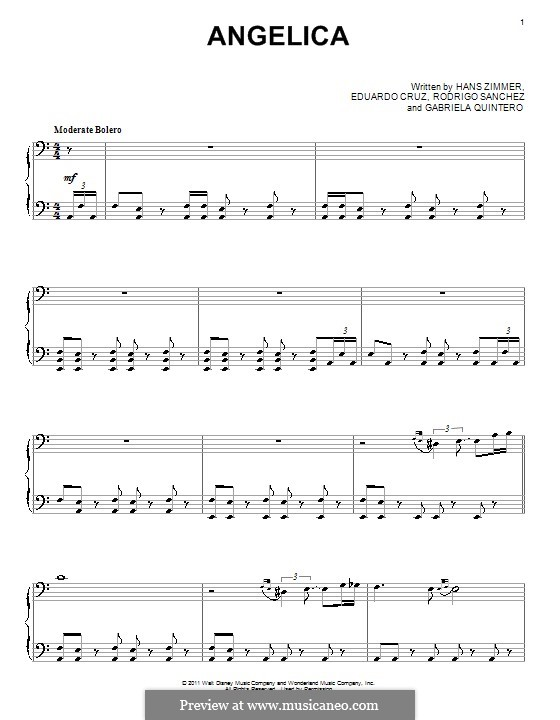 Angelica: Para Piano by Eduardo Cruz, Gabriela Quintero, Rodrigo Sánchez