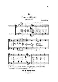 Sangerhilsen, EG 170: Sangerhilsen by Edvard Grieg