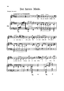 Four Poems from 'Fiskerjenten', Op.21: Four Poems from 'Fiskerjenten' by Edvard Grieg