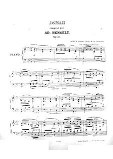Nocturne, Op.32: noturno by Adolf von Henselt