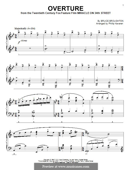 Overture: Para Piano by Bruce Broughton