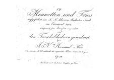 Twelve Minuets and Trios, Op.24: Twelve Minuets and Trios by Johann Nepomuk Hummel