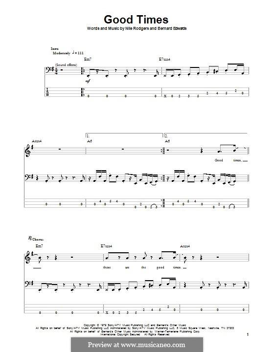 Good Times (Chic): para baixo com guia by Bernard Edwards, Nile Rodgers
