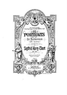 Thirty Three Portraits, Op.101: Thirty Three Portraits by Sigfrid Karg-Elert