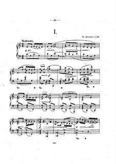 Twelve Piano Pieces, Op.26: set completo by Theodor Kirchner