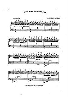 Gay Butterfly, Op.301: Gay Butterfly by Henry Maylath