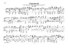 Funeral March, Op.103: para piano de quadro mãos by Felix Mendelssohn-Bartholdy
