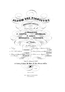 Fantasia on a Mazurka by Chopin, Op.45: Para Piano by Amédée Méreaux