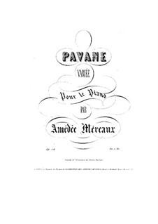 Pavane Variée, Op.54: Pavane Variée by Amédée Méreaux