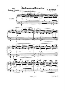 Grandes études pour piano en soixante caprices caractéristiques, Op.63: Etudes No.37, 4, 48 by Amédée Méreaux