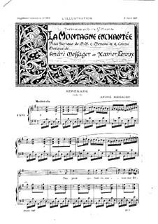 La montagne enchantée: fragmentos by Andre Messager, Xavier Leroux