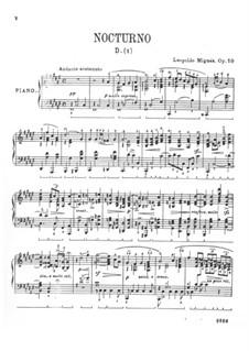 Nocturne in F Sharp Major, Op.10: Nocturne in F Sharp Major by Leopoldo Miguez