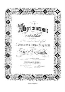 Allegro Scherzando, Op.20: Allegro Scherzando by Moritz Moszkowski