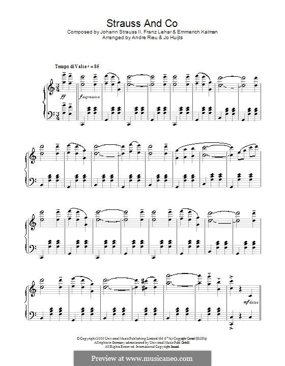 Strauss and Co: Strauss and Co by Franz Lehár, Johann Strauss (Sohn), Emmerich Kalman