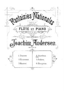 National Fantasias, Op.59: No.4 Suedois by Joachim Andersen