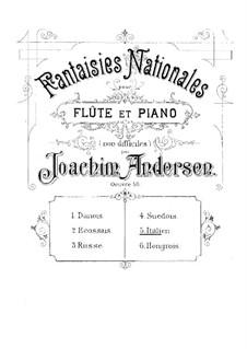National Fantasias, Op.59: No.5 Italien by Joachim Andersen