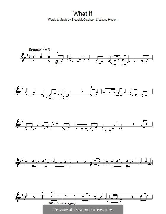 What If (Kate Winslet): para violino by Steve Mac, Wayne Anthony Hector