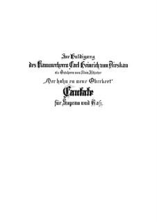 Mer hahn en neue Oberkeet, BWV 212: Mer hahn en neue Oberkeet by Johann Sebastian Bach