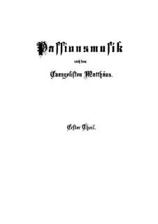Part I: Complete by Johann Sebastian Bach