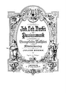 Complete Oratorio: para coral e piano by Johann Sebastian Bach
