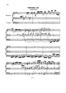 Toccata and Fugue in E Major, BWV 566: para orgãos by Johann Sebastian Bach