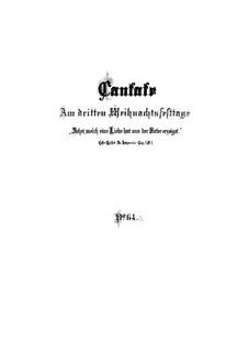 Sehet, welch eine Liebe hat uns der Vater erzeiget, BWV 64: Partitura completa by Johann Sebastian Bach