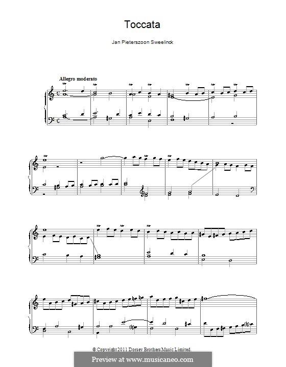 Toccata (Aeolian), D.31: Para Piano by Jan Pieterszoon Sweelinck