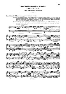 Selected Pieces: Annotation by Johann Sebastian Bach