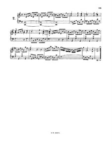Little Prelude in C Major, BWV 939: para cravo by Johann Sebastian Bach