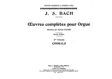Chorale Partitas and Canonic Variations, BWV 766-769: Chorale Partitas and Canonic Variations by Johann Sebastian Bach