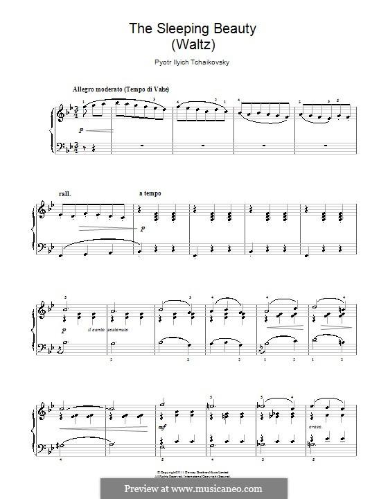 Waltz: Para Piano by Pyotr Tchaikovsky