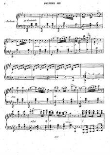 Mosè in Egitto: Premier air – piano part by Gioacchino Rossini