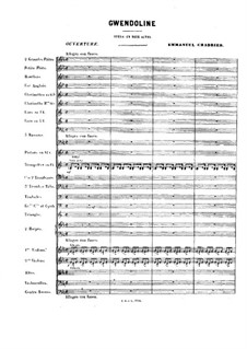 Gwendoline: abertura by Emmanuel Chabrier