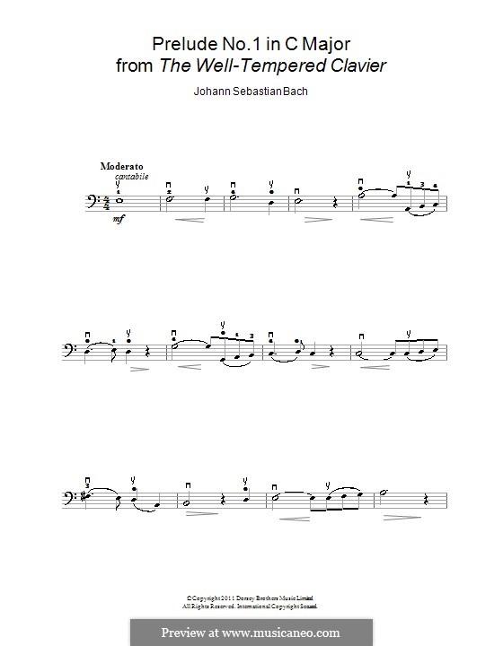 Ave Maria (Printable Sheet Music): para violoncelo e piano - parte solo by Johann Sebastian Bach, Charles Gounod