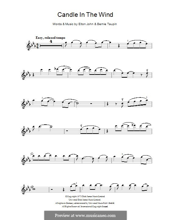 Candle in the Wind: para violino by Elton John