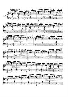 No.2 in A Minor: Para Piano by Frédéric Chopin
