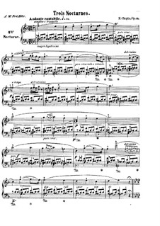 Nocturnes, Op.15: set completo by Frédéric Chopin