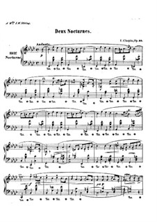 Nocturnes, Op.55: set completo by Frédéric Chopin