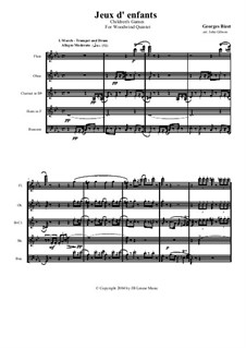 Petite Suite for Orchestra: Version for Woodwind Quintet by Georges Bizet