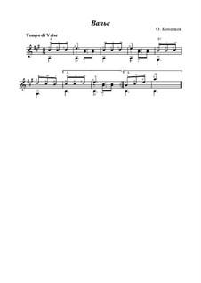 Valse, Op.16: valsa by Oleg Kopenkov