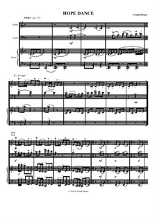 Immigrant (Hope In A Better Place) for violin, cello and piano: Immigrant (Hope In A Better Place) for violin, cello and piano by Joseph Hasper