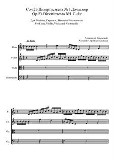 Divertimento No.1, Ор.23: Divertimento No.1 by Ksardas