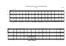 String Quartet No.1: Segundo movimento by Irminsul Harp