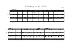 String Quartet No.1: Fourth movement by Irminsul Harp