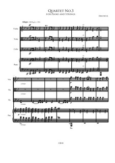 Quartet No.3: Quarteto No 3 by Irminsul Harp