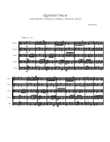 Quintet No.4: Quintet No.4 by Irminsul Harp