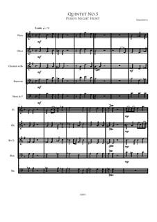 Quintet No.5: Quintet No.5 by Irminsul Harp