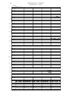 Symphony No.1 in A Minor: Segundo movimento by Irminsul Harp